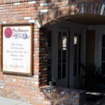 pure elements salon - front of store sign and entrance - salon paso robles
